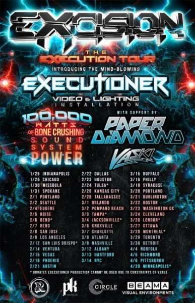 Excision Executioner Tour