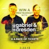Win 4 tickets and a meet&greet with Gabriel and Dresden this Friday at Exchange LA!!