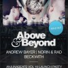 Above & Beyond at Roseland Ballroom in NYC: Full Lineup